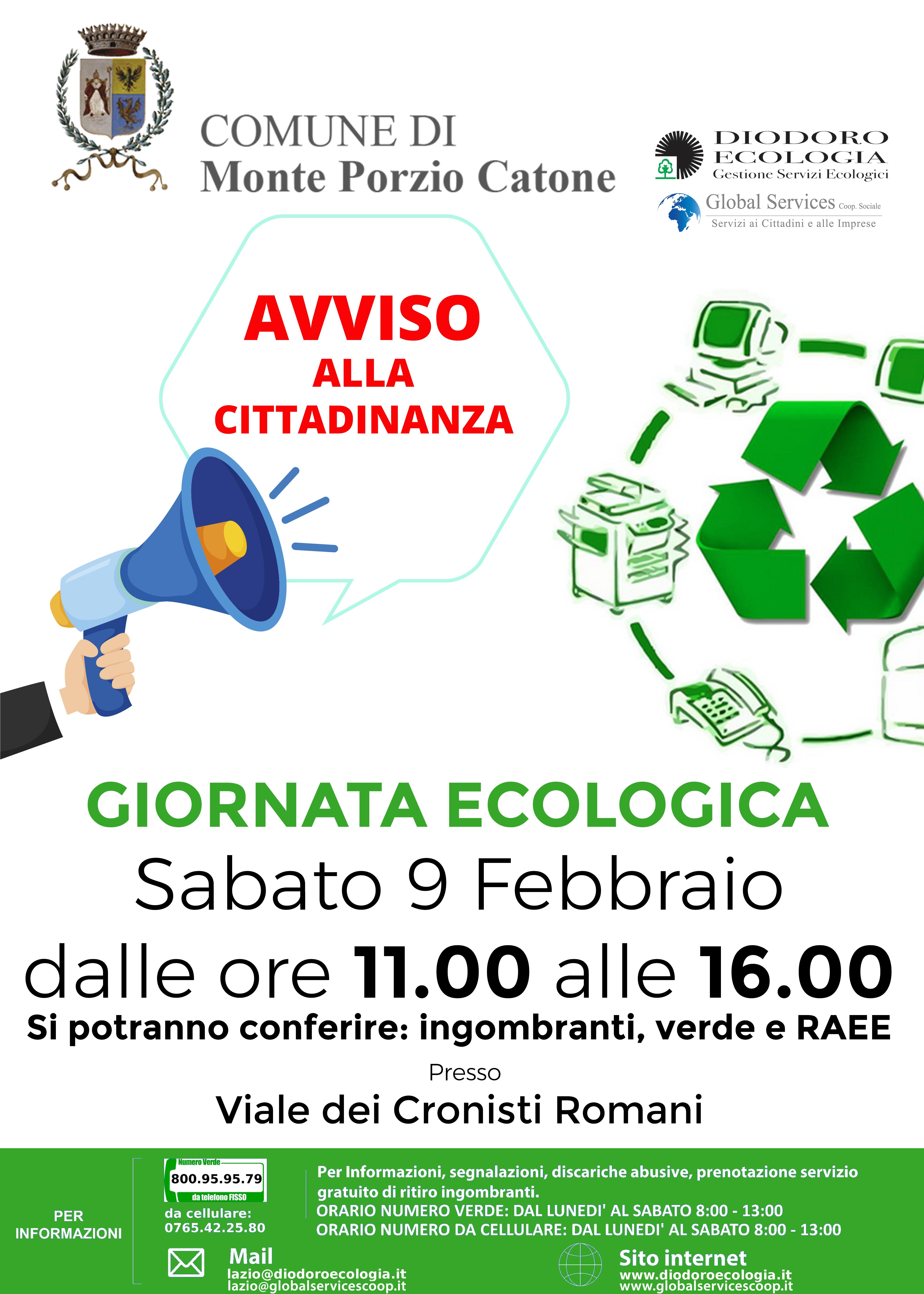 Giornata Ecologica Monte Porzio Catone