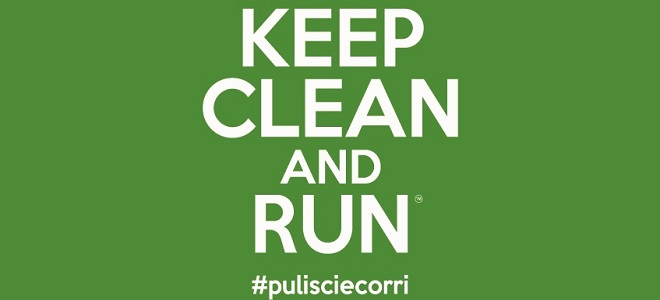 KEEP CLEAN AND RUN #pulisciecorri